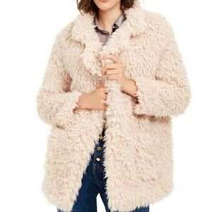 Sage The Label Penny Lane Shaggy Faux fur coat